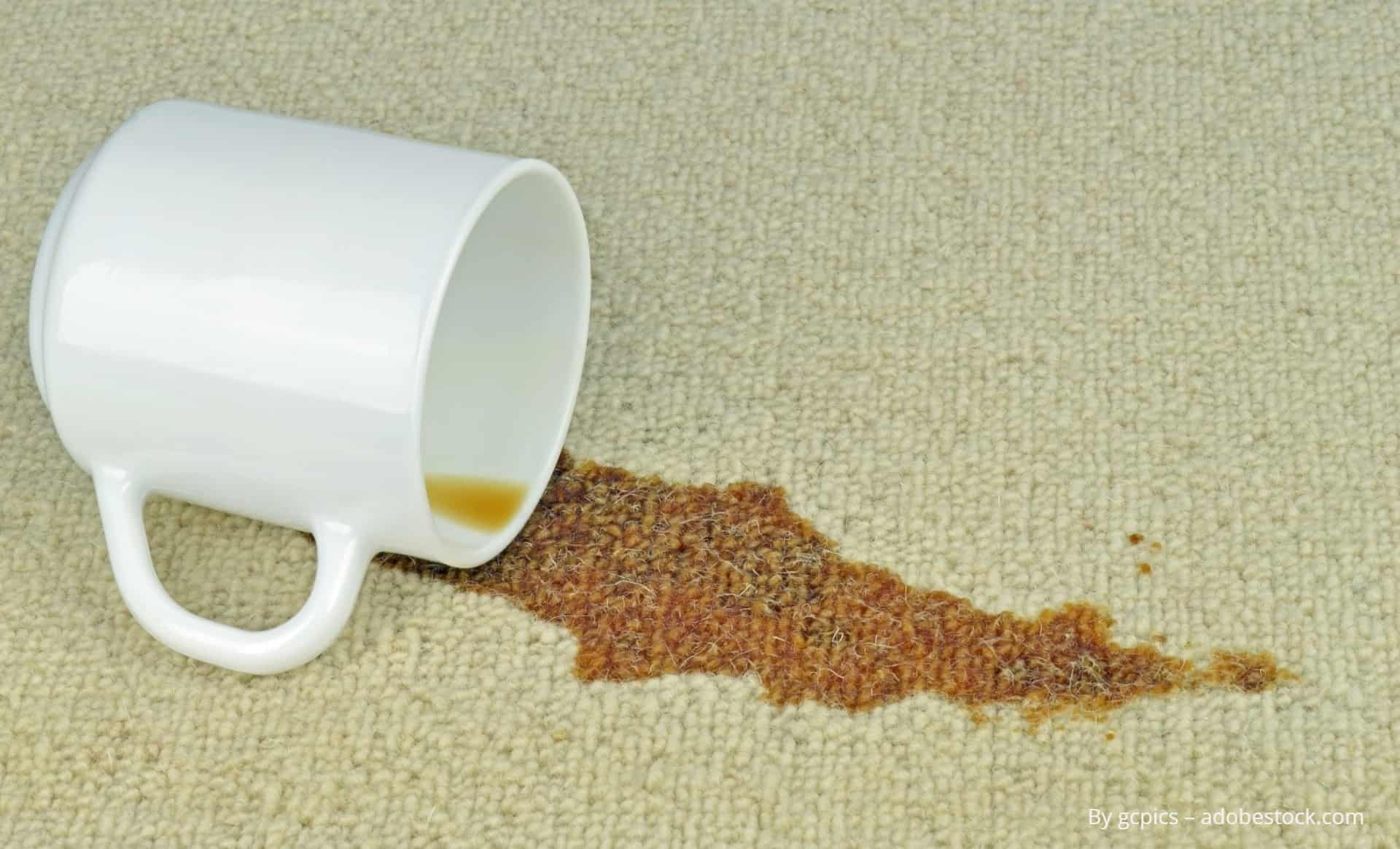 премахване на петна от кафе